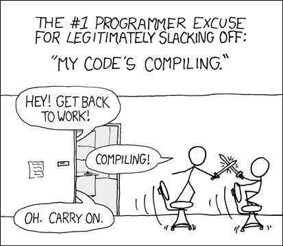 Compiling.